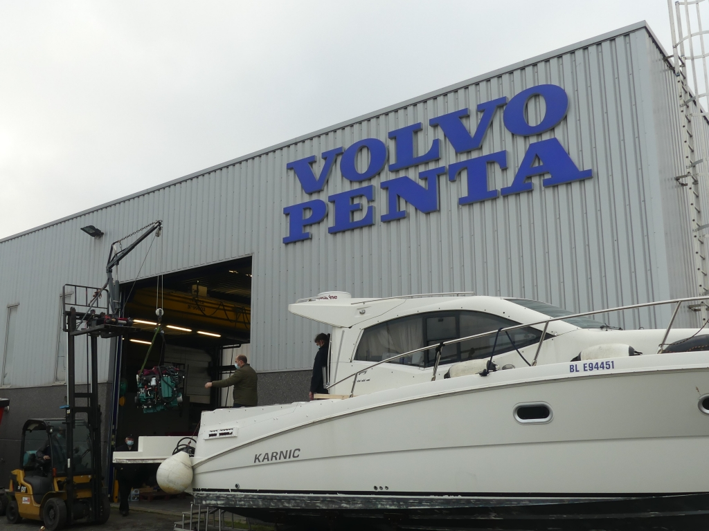 remotorisation bateau plaisance expert volvo penta
