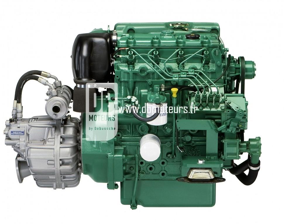 moteur volvo penta d2-55 avec inverseur