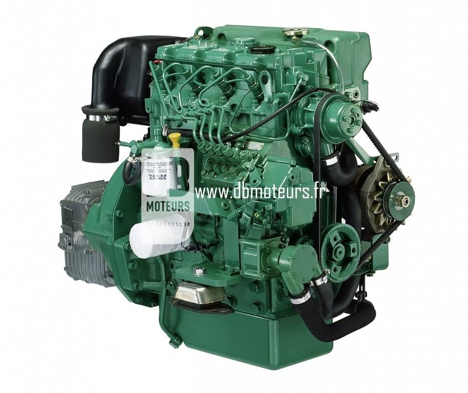 moteur volvo penta d2-55 avec inverseur2