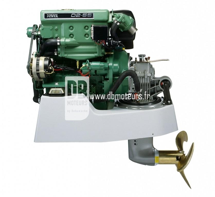 moteur volvo penta d2-55 avec embase3