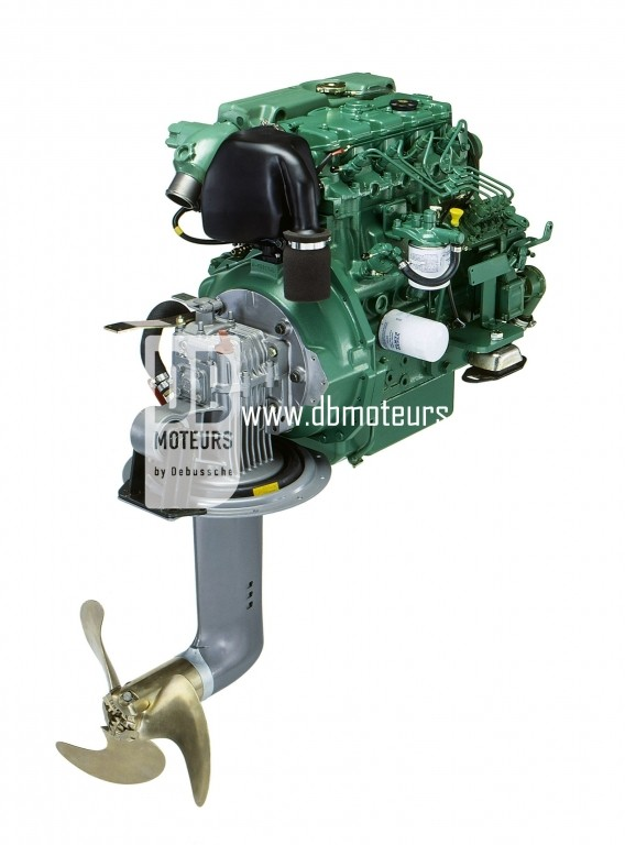 moteur volvo penta d2-55 avec saildrive3