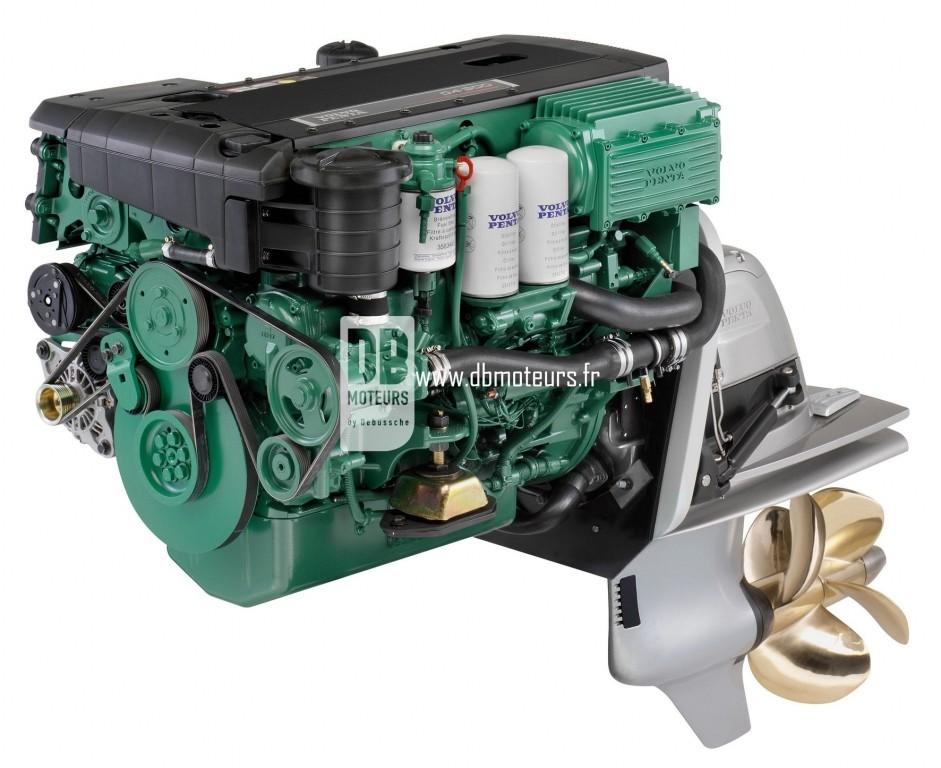 moteur marin volvo penta d4-300 avec embase duroprop2