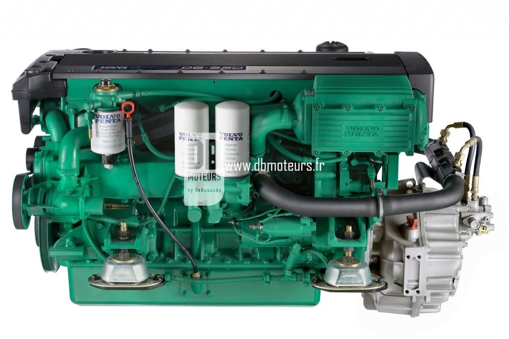 moteur marin volvo penta d6-330 ligne d'arbre4