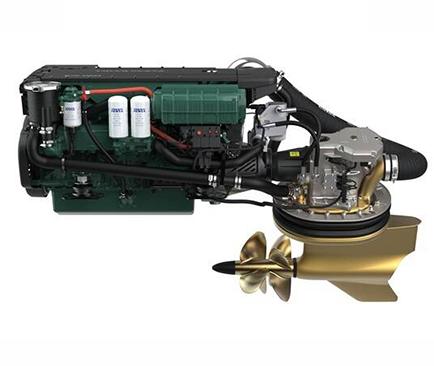 moteur volvo penta ips d6