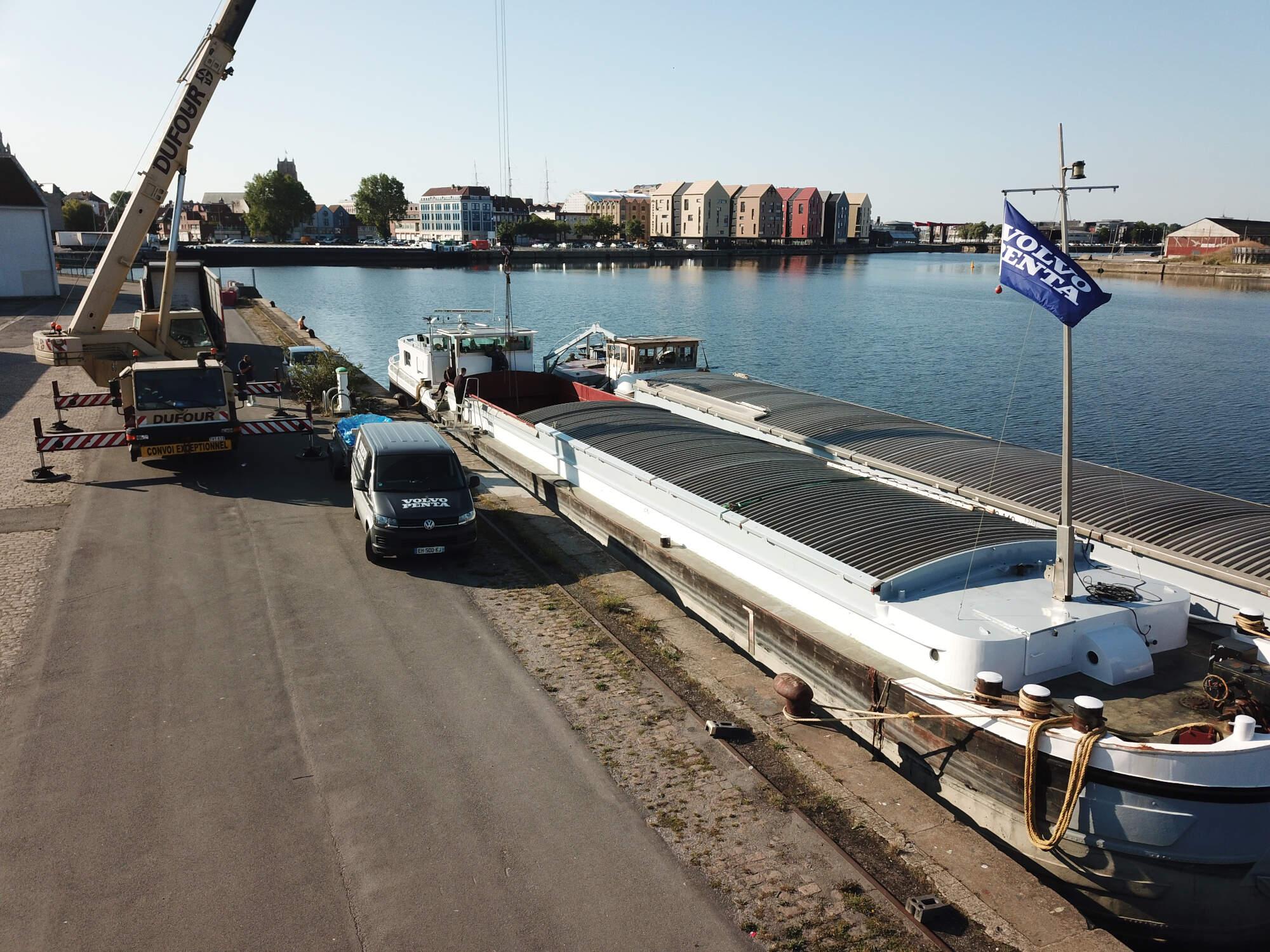 remotorisation bateau fluvial
