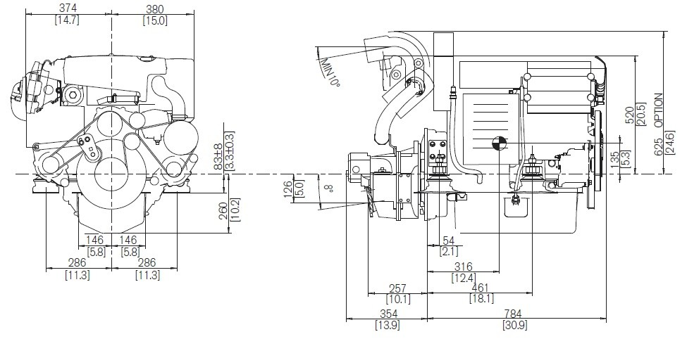moteur volvo penta d4-180