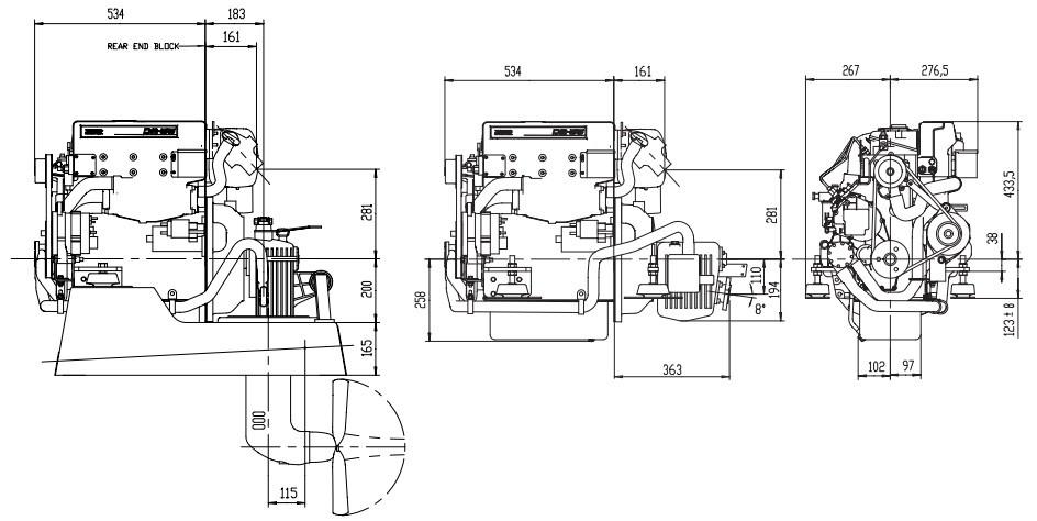 moteur volvo penta d2-55