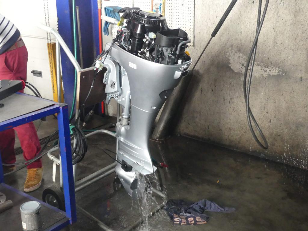 mise en route moteur honda marine entretien maintenance