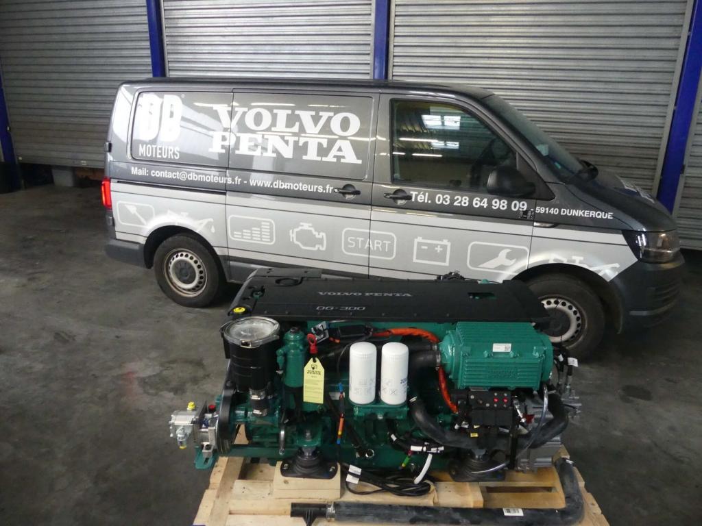 moteur volvo penta d6300 dunkerque