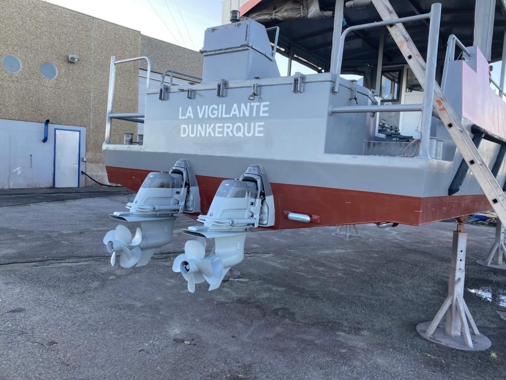 remotorisation dunkerque bateau bimoteur inboard