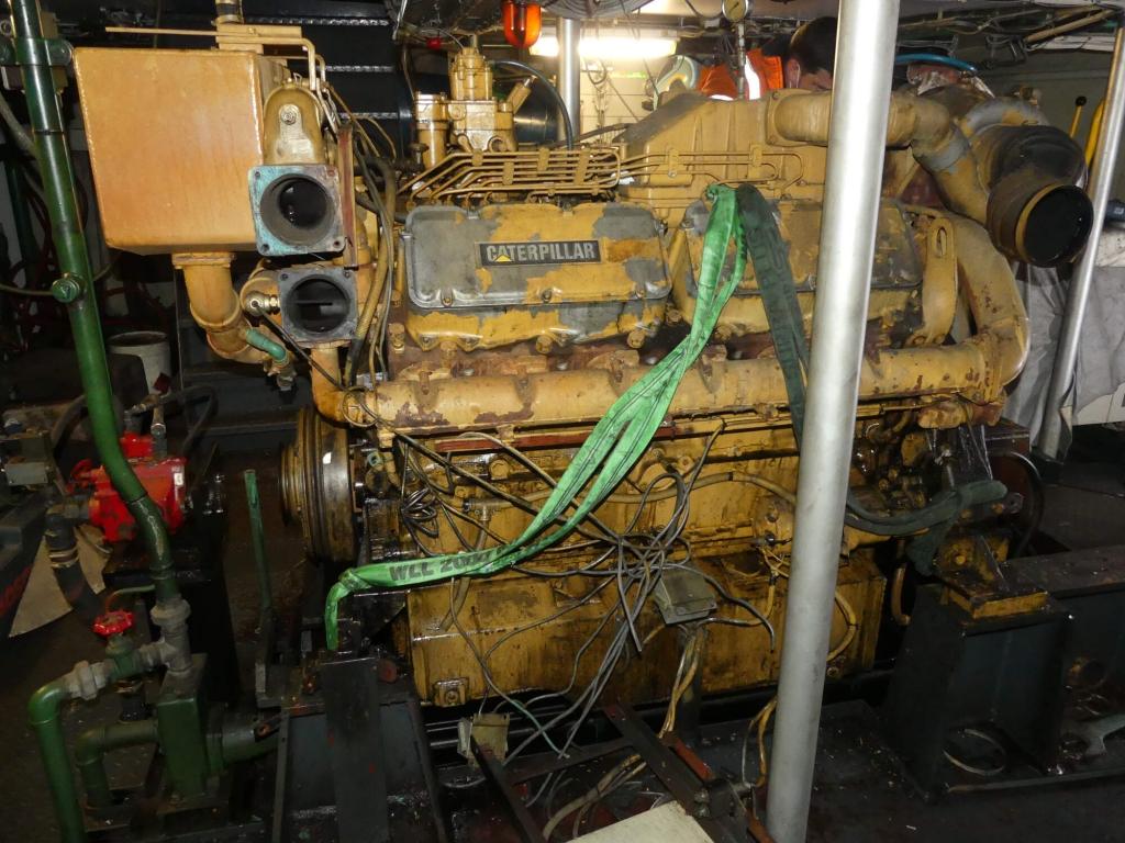 moteur caterpillar remotorisation