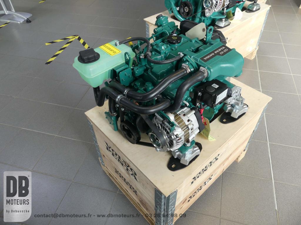 moteur volvo penta D1-20 voilier