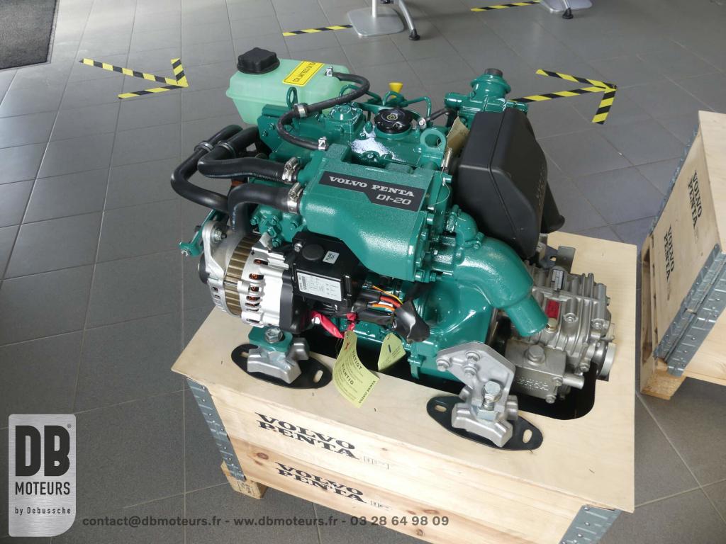 moteur volvo penta D1-20 plaisance