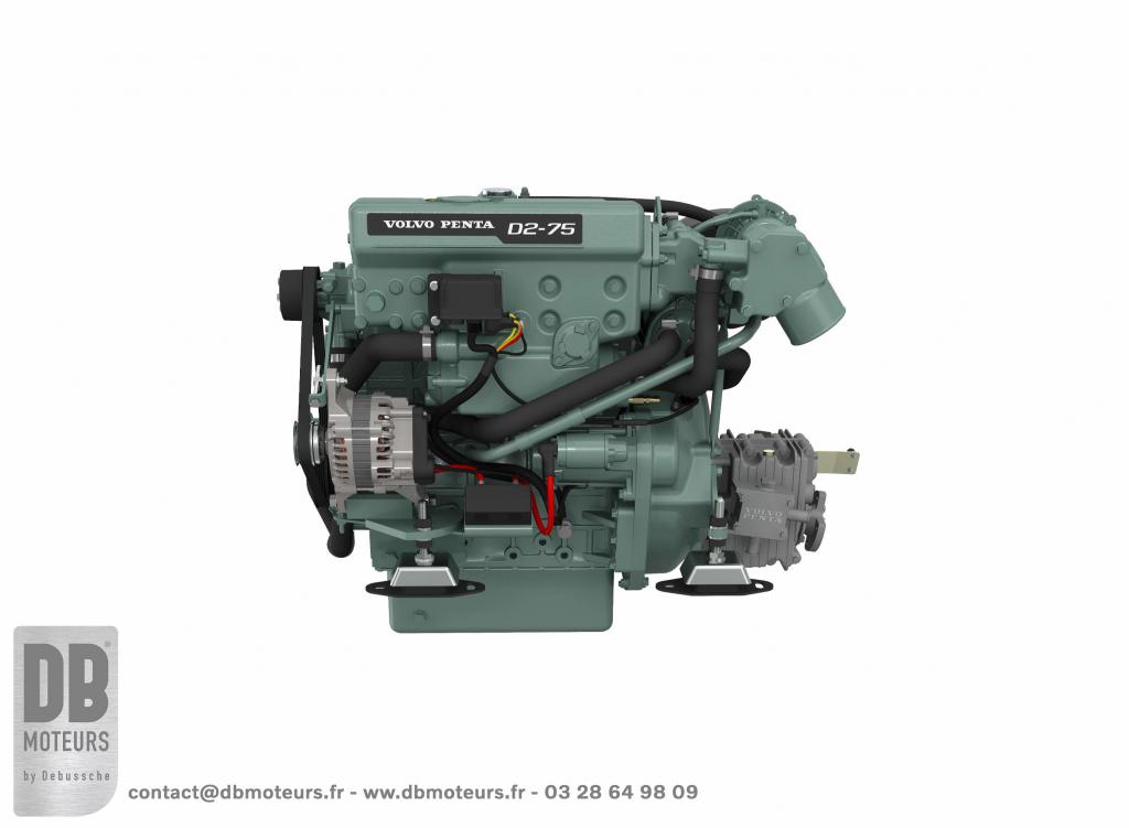 moteur marin diesel volvo penta D2-75