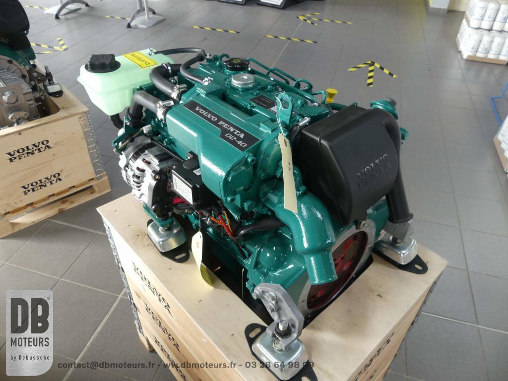 moteur marin plaisancier D2-40