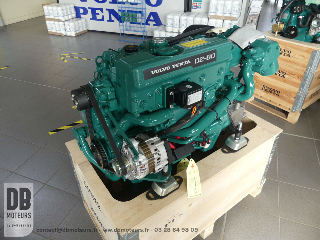 moteur marin plaisance bateau volvo penta D2-60