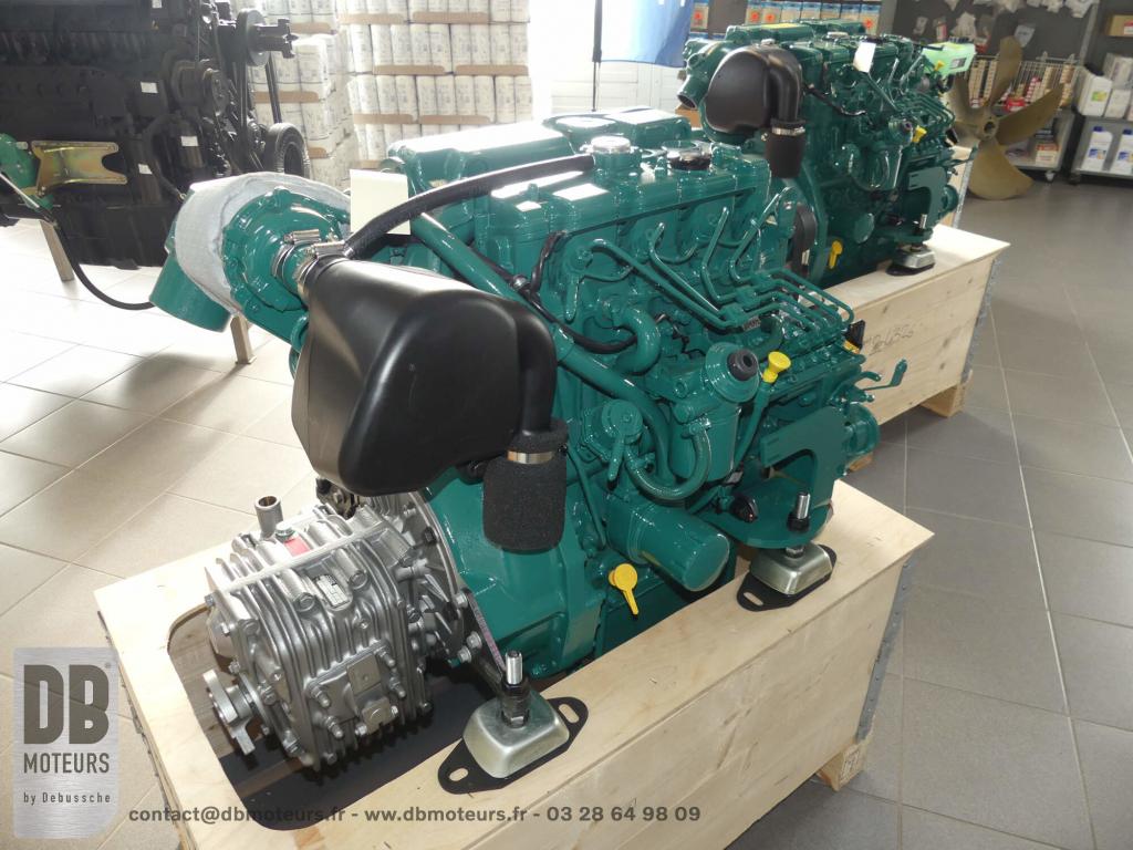moteur marin 60 chevaux diesel inboard inverseur ligne arbre