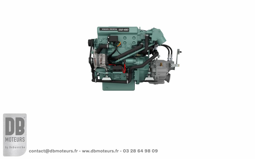 moteur neuf volvo penta 60 chevaux