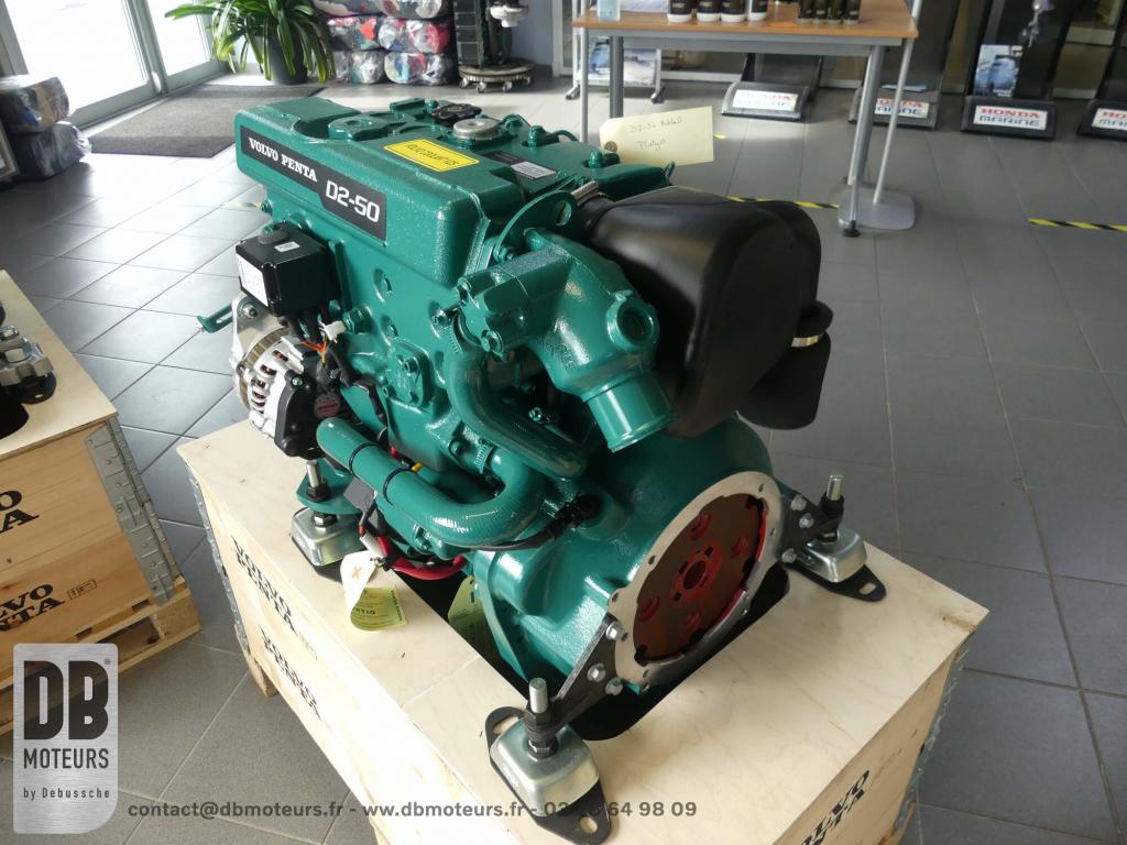 moteur diesel bateau voilier D2-50 volvo penta