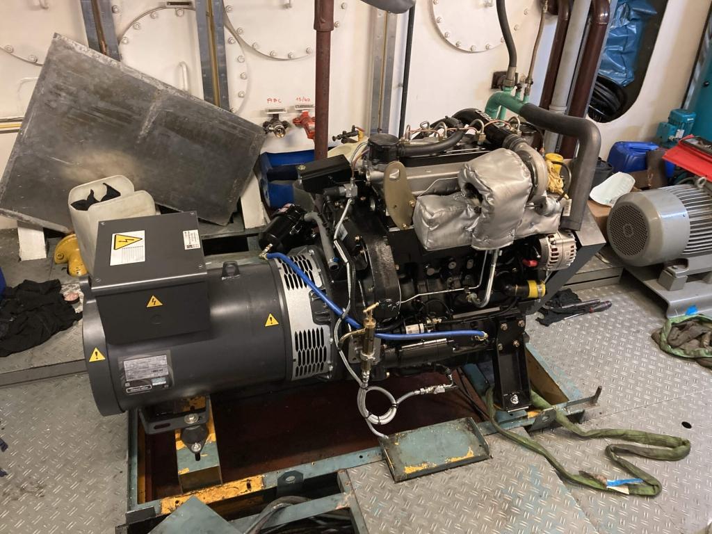 installation groupe de puissance marin jcb dunkerque