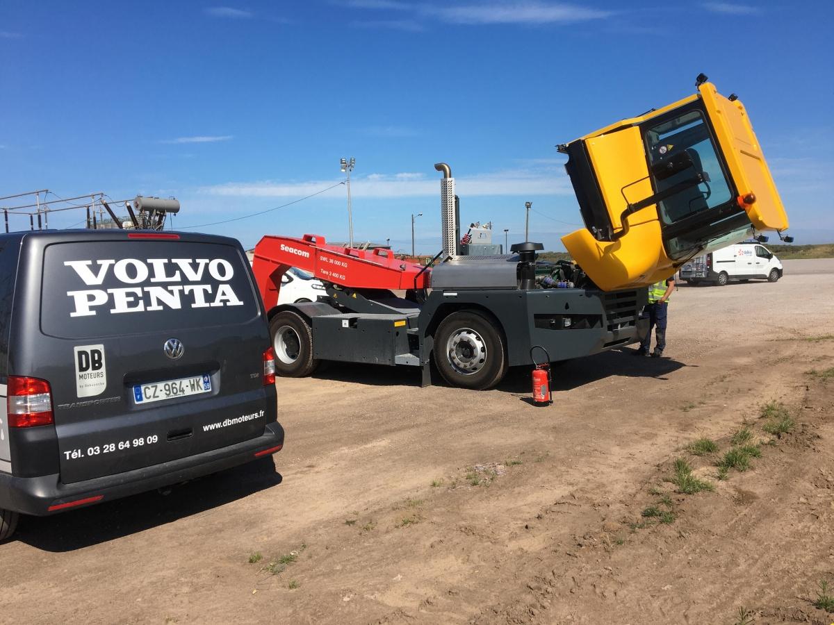 entretien volvo penta tracteur molcy