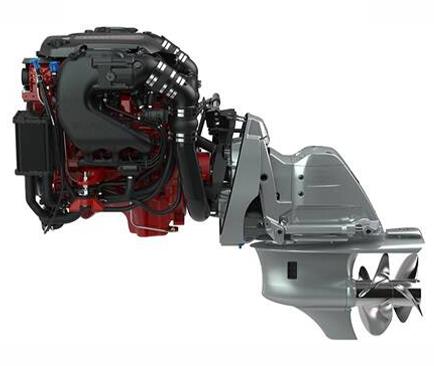 moteur marin essence volvo penta v6 aquamatic sterndrive