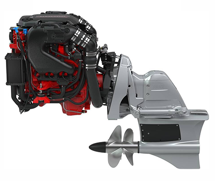 moteur marin essence volvo penta v6 forward drive
