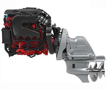 moteur marin essence volvo penta v8 aquamatic sterndrive