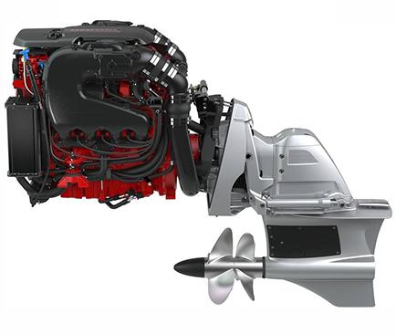 moteur marin essence volvo penta v8 forward drive