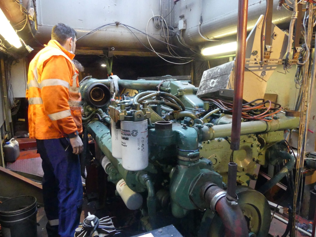 Remotorisation fluvial CCNR2