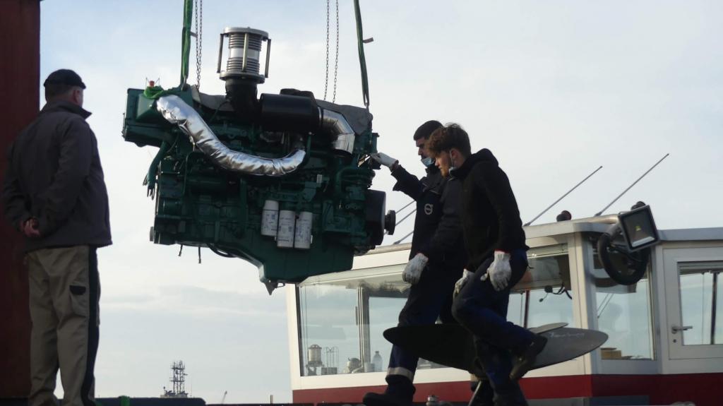 Remotorisation nouveau moteur D16 volvo penta