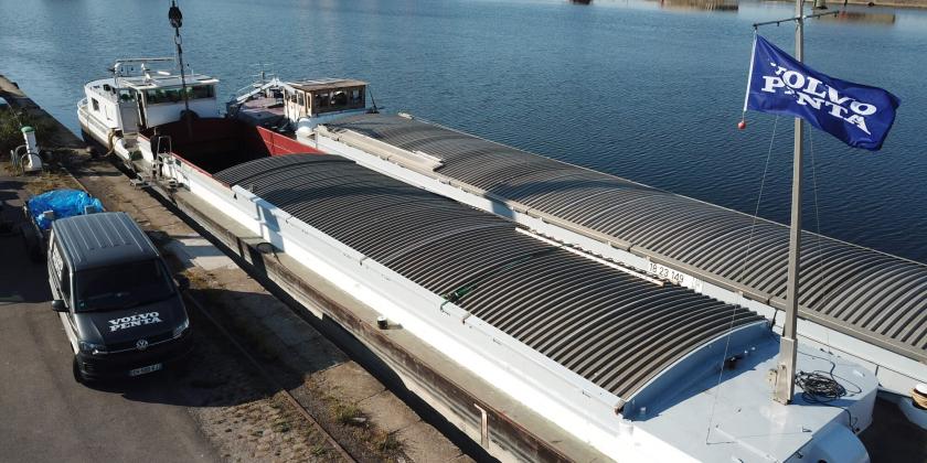 remotorisation transport fluvial dunkerque