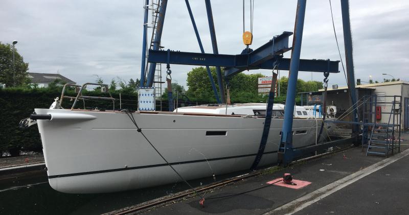 réparation moteur sur voilier